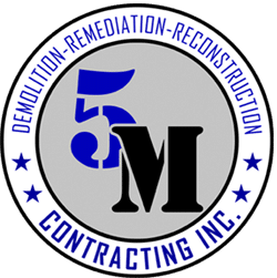 5M CONTRACTING, INC. Logo